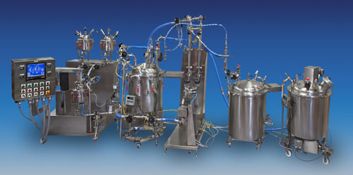 Sanitary Mixing System for Pharmaceuticals